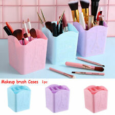 4 Compartments Makeup Brush Cases Nail Art Tool Cosmetic Organizer Storage Box