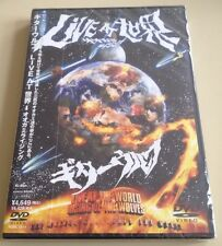 Guitar Wolf - Live At The World Rising Of The Wolves (Japan-DVD), New Sealed