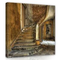 CANVAS Leinwand bilder XXL Ruinen Bild Wandbild F17680