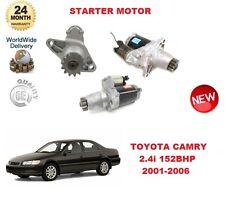 für Toyota Camry 2.4 i 152bhp 2001-2006 DENSO Original Anlasser OE