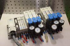 FESTO VMPA-KMS1-24-2,5 Valve Block 533342, 533347, 537952,  VMPA-2-B8-R1C2-C-06