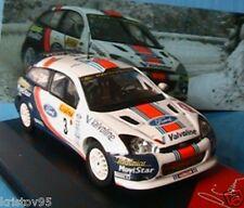 FORD FOCUS WRC # 3 2001 RALLYE MONTE CARLO CARLOS SAINZ MOYA 1/43 IXO ALTAYA