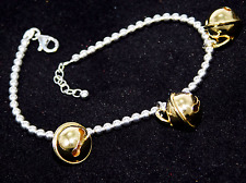Women Bracelet Silver 925% calls Angels Xylophone Pendant X PL Gold WS Coral