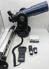 Meade Etx-80 Observer Telescope w/ Autostar Tripod Bag Eyepieces Tested