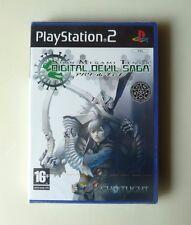 SHIN MEGAMI TENSEI DIGITAL DEVIL SAGA PLAYSTATION 2 PS2 PAL ESPAÑA NUEVO SEALED