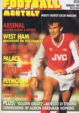 MARTIN HAYES ARSENAL TEAM / WEST HAM / LIVERPOOL	Football Monthly	Feb	1987