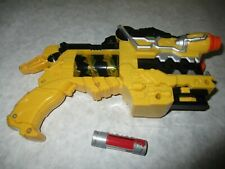 Power Rangers Dino Super Charge Deluxe Dino Charge Morpher Gun Blaster Yellow