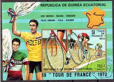OSE101 CYCLISME TOUR DE FRANCE Guinee Equatoriale 1 bloc oblitéré