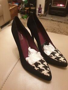 Next Ladies Black High Heel Shoes Size 7 BNIB