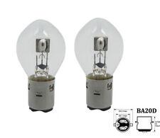 2 Stück 12V 35/35W BA20d S2 Lampe Glühlampe Moped Motorrad Halogen Deutsche Post