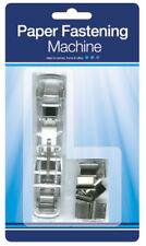 Paper Fastening Machine Home Office Organisation Clipping Fastener Binding Book