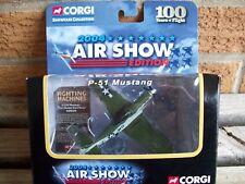 CORGI #CS90339, P-51D MUSTANG, 2004 AIR SHOW EDITION , DIECAST, MIB