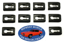 81-90 Ford Escort Mercury Lynx Body Fender Door Quarter Molding Trim Clip 10p SY