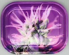 "New Sealed Premium Metal Rolling Tray 5.5 x 7"" Pink Lemondae Collectible Art USA"