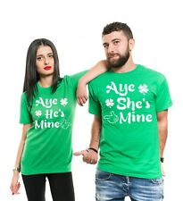 She Is Mine He Is Mine ST. Patrick's Day Shirts Funny Tee Shirt Paddys Day Shirt