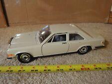 Vintage Burago 1/22 scale diecast Rolls Royce Camargue model car.