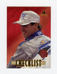 Rusty Wallace 1997 97 Pinnacle Artist Proof Red Parallel Insert Card AP Rare #96