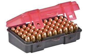 Plano GG1224-50 Ammo 9mm Handgun Charcoal/Rose Ammunition Box Case