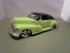 JADA 1/24 DUB CITY MINT GREEN 1947 CHEVY AREOSEDAN FLEETLINE VERY NICE NO BOX