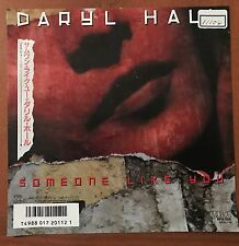 "DARYL HALL -SOMEONE LIKE YOU (GUITAR SOLO)(SAX SOLO) Japan 7"" Vinyl Promo"