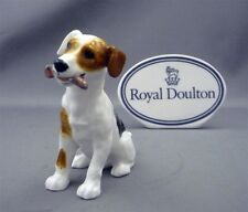 """Royal Doulton Jack Russel Character Dog with Bone Puppy Figurine HN 1159 3 1/4"""""""