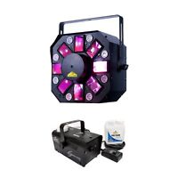 American DJ ADJ Stinger II 3-in-1 FX Light w/ Chauvet Hurricane H700 Fog Machine
