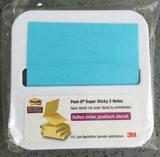 NUOVO 3m POST-IT ® Super Sticky Z-Blu NOTE POST IT APPUNTI Dispenser da tavolo