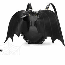 Fashion Novelty Black Bat Heart wings bag Backpack goth punk lace lolita Gothic