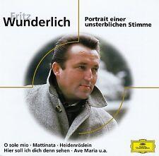 FRITZ WUNDERLICH : PORTRAIT EINER UNSTERBLICHEN STIMME / CD - TOP-ZUSTAND