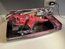 Power Rangers Movie T-Rex Battle Zord with Red Ranger Bandai  Brand New In Box