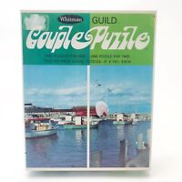 Vintage Whitman Guild Couple Jigsaw Puzzle -Rockport Mass - 2 250 Piece Sealed