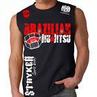 New Stryker Brazilian Jiu Jitsu Octagon ufc mma Fighter Sleeveless Muscle Shirt