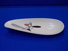 Poppy Trail Metlox Mobile CONTEMPORA Free Form Mid Century Modern Celery Plate
