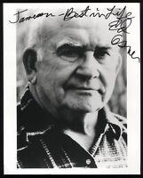 Ed Asner Signed 8x10 Photo Autographed Photograph Vintage Signature