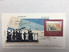The History of Science and Invention Mint Stamp Collection Halley's Comet Stamp