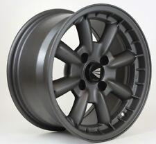 15x7 Enkei COMPE 4x100 +38 Gunmetal Rims Fits 4 Lug Civic Jetta Miata Xb Ek