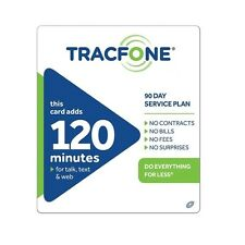 TracFone $29.99 Refill -- 120 Minutes / 90 Days