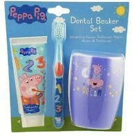 PEPPA PIG Children's Toothbrush,Toothpaste & Beaker Set.