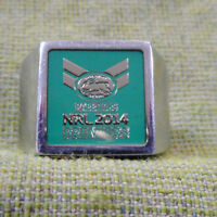 #D147.  2014  NRL  SOUTH SYDNEY  RABBITOHS  PREMIERS  RING #1033 / 2000