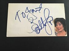 Loretta Lynn Signed Index Card JSA Authenticated Autographed