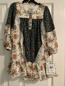 Bonnie Jean - Boho Mixed Floral Print Dress Girls Size 5