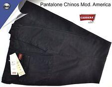PANTALONE COTONE CARRERA ESTIVO COTONE MOD. AMERICA BLU. 48