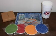 Longaberger Baskets - 4 Coasters, Plastic 25th Anniversary Cup, Mouse Pad