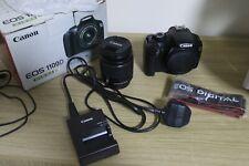 Canon EOS 1100D 12.2MP Digital SLR Camera - Black 18-55mm lense