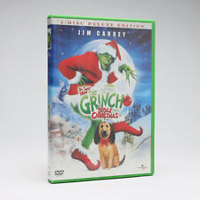 How the Grinch Stole Christmas Dvd (Deluxe 2-Disc Set) Jim Carrey/Holiday/Suess