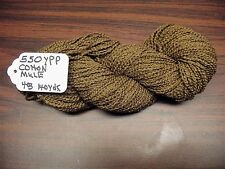 Cotton Boucle Yarn 550 YPP Mule color  4 ounce  skein 140 Yards