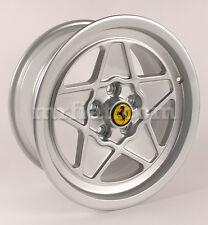 "Ferrari 308 QV 328 Silver Five Spoke Ferrari Style 16"" Wheel Set 4 Pcs New"