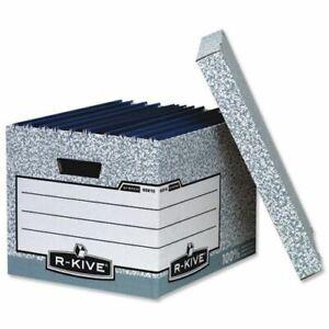 R-Kive System Standard Storage Box Foolscap Ref 00810-FF [Pack of 10]