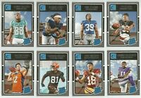 2016 Panini Donruss Football RATED ROOKIE CARDS (#350-#400) YOU PICK LIST