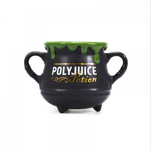 OFFICIAL HARRY POTTER POLYJUICE POTION CAULDRON COFFEE MUG CUP NEW IN GIFT BOX